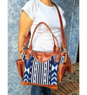 Mayan weekender bag