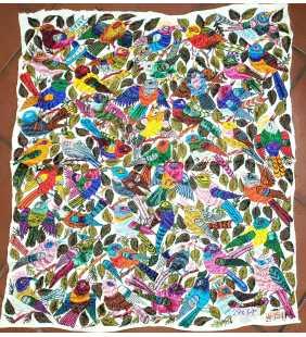 Mayan hand loomed shawl...