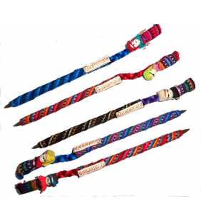 Guatemala Worry Doll covered pen