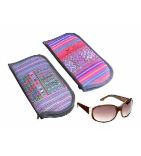 "Boho sunglass ""Todos Santos"" case wallet purse"