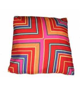 "Guatemala pillow cover design ""X"" stripes"