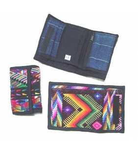 Guatemala huipil wallet